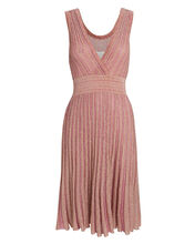 Shimmering Rose Gold Dress, PINK, hi-res