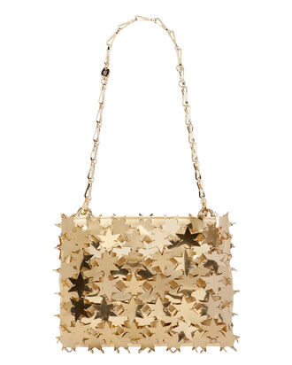 Iconic 1969 Star Chain Mail Bag, GOLD, hi-res