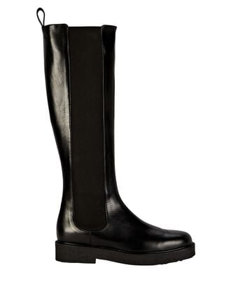 Palamino Tall Leather Chelsea Boots, BLACK, hi-res