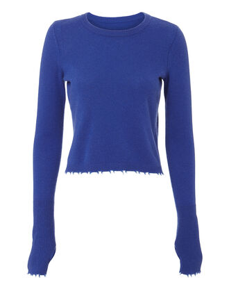 Valencia Cashmere Sweater, BLUE-LT, hi-res