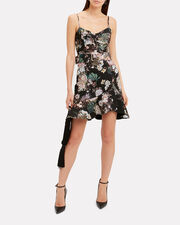 Arielle Belted Dress, MULTI, hi-res