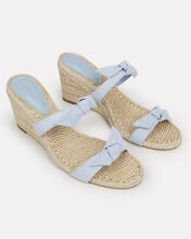 Clarita Demi Wedge Sandals, BLUE-LT, hi-res