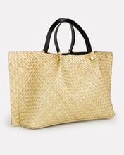 Medium Straw Tote, STRAW, hi-res