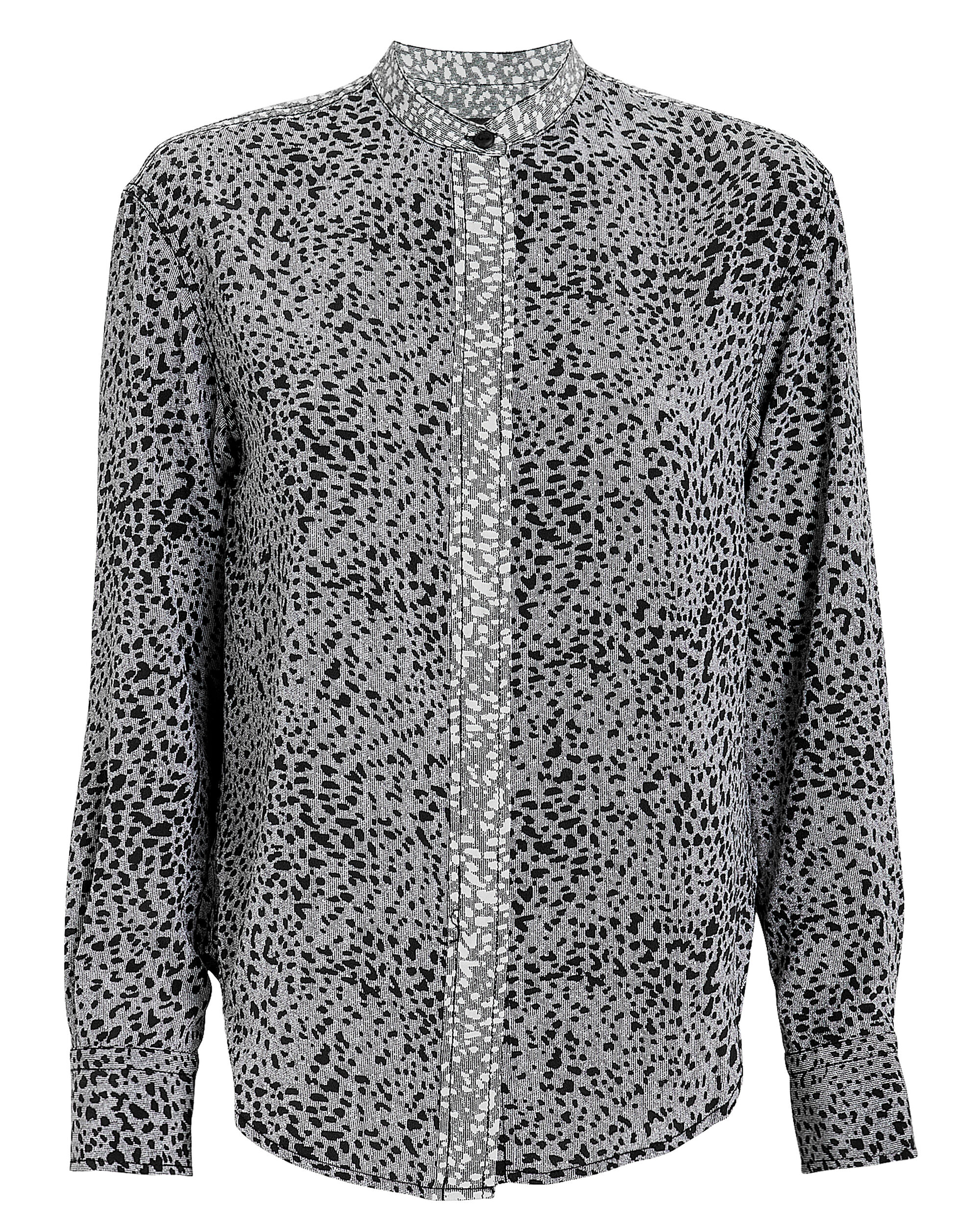 Christie Shirt, GREY/BLACK LEOPARD, hi-res