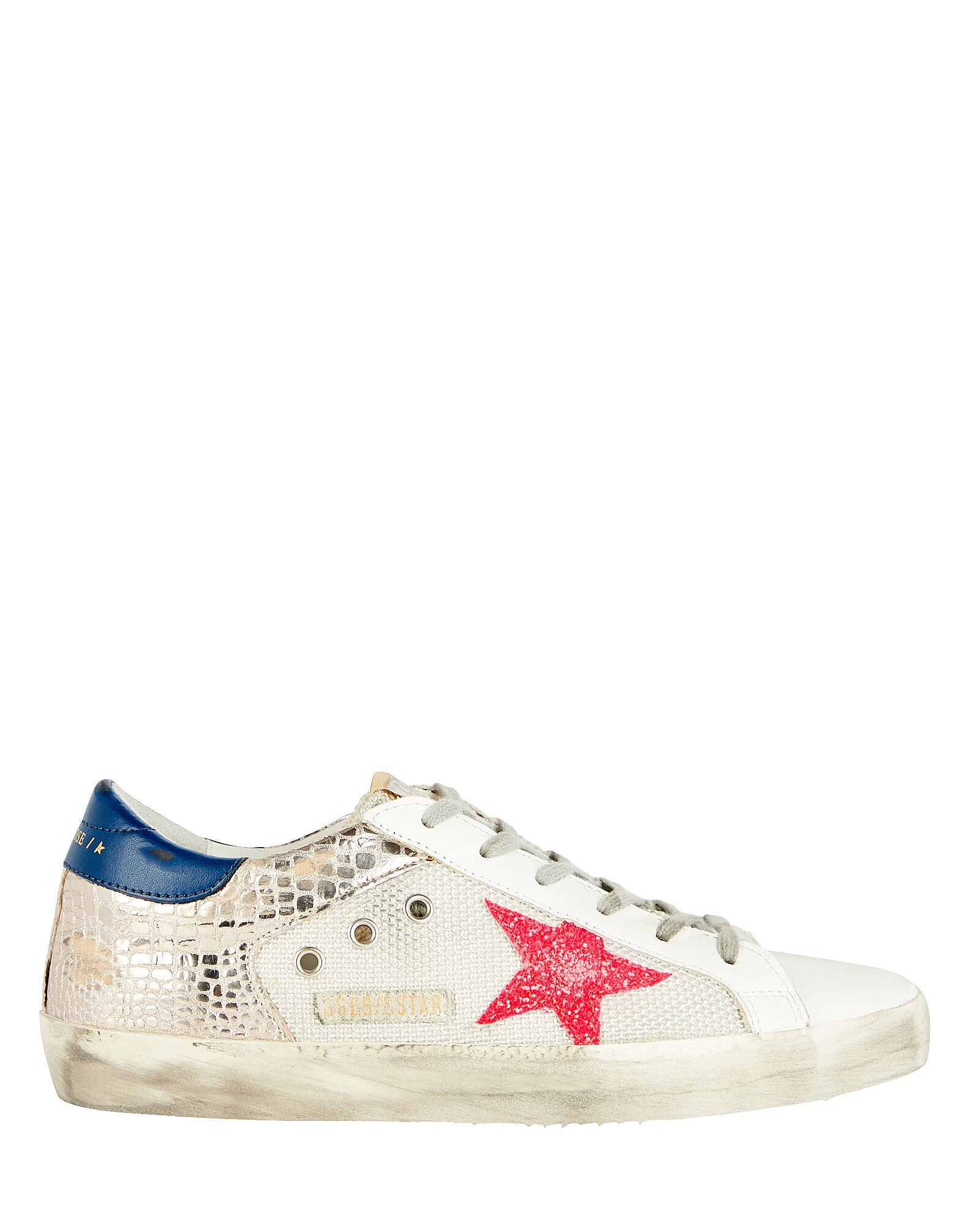 Superstar Mesh Sneakers, WHITE, hi-res