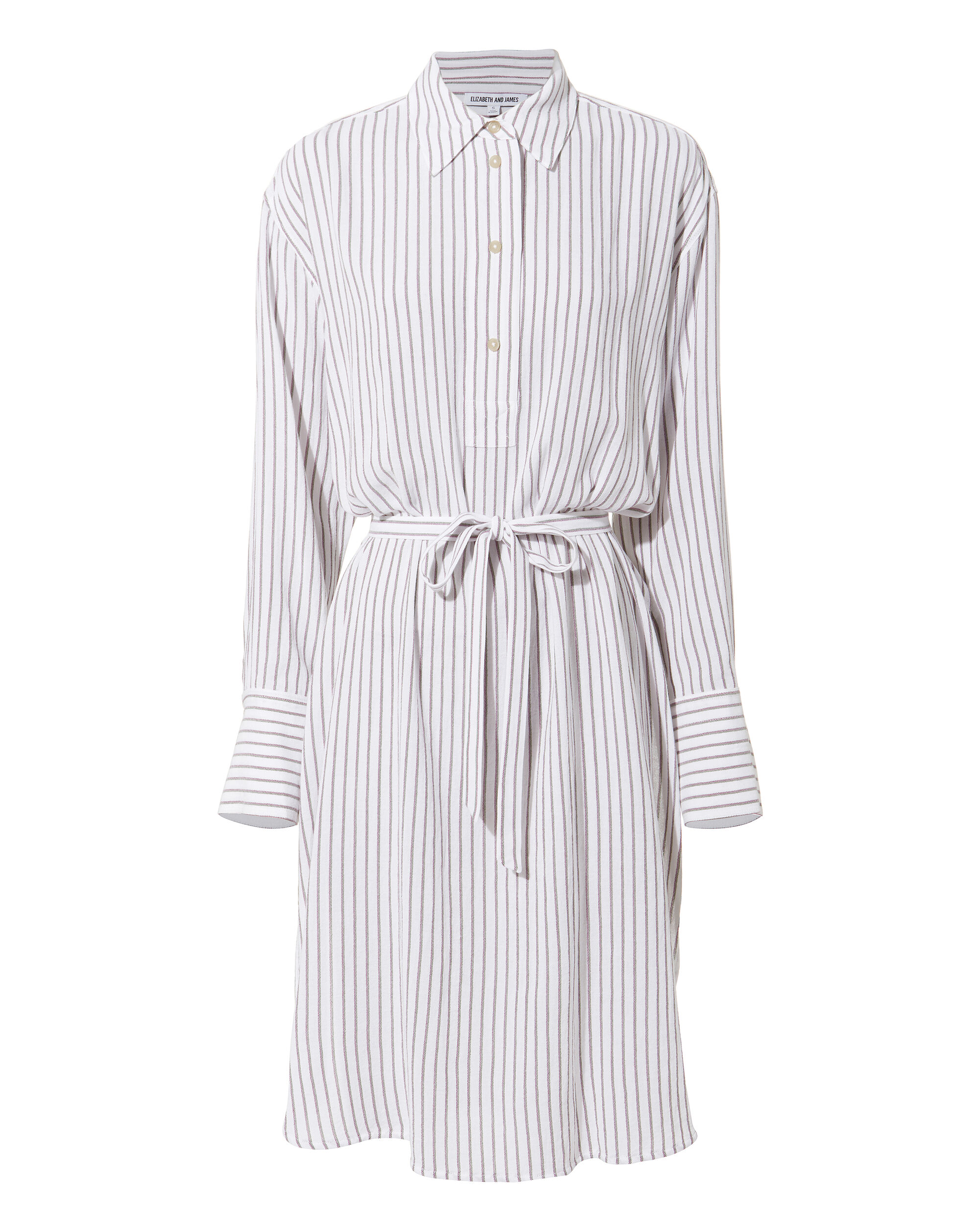 Oversized Striped Shirtdress, MULTI, hi-res