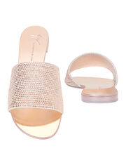 Nuvo Roll Swarovski Crystal Sandals, GOLD, hi-res