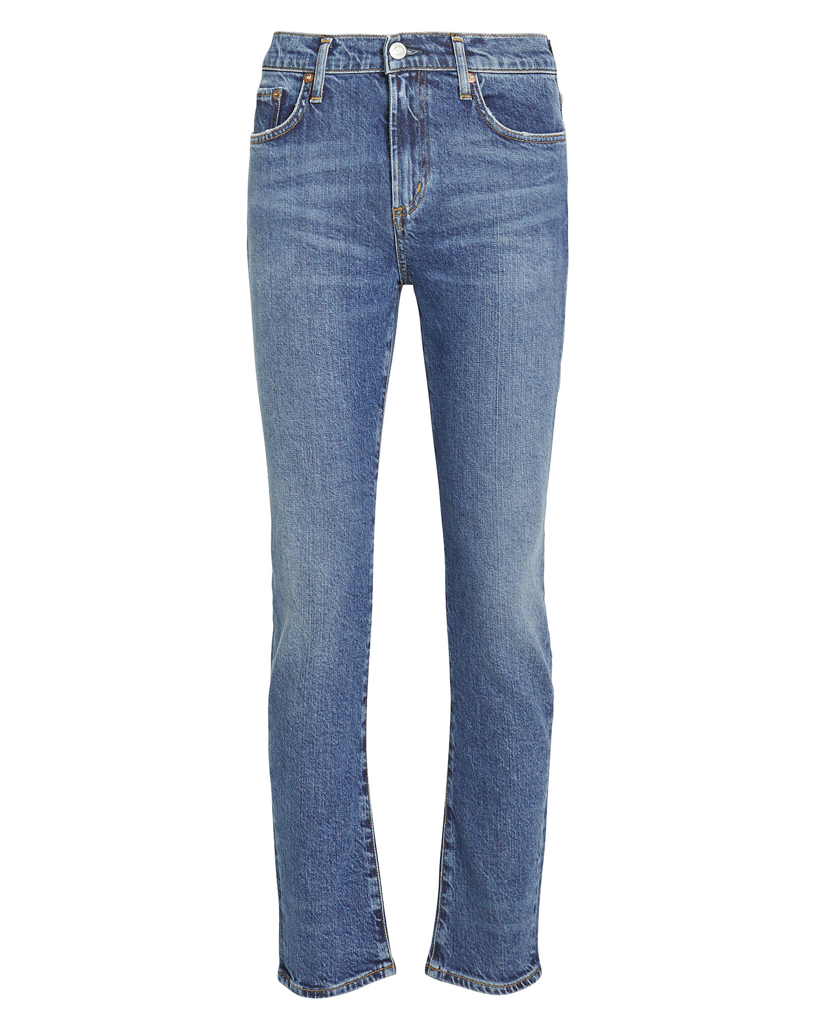 Toni High-Rise Straight Jeans, DENIM, hi-res