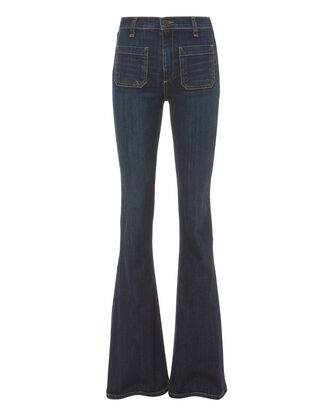 Florence Flare Jeans, DARK DENIM, hi-res