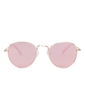 Zephyr Deux Mirrored Sunglasses, ROSE, hi-res