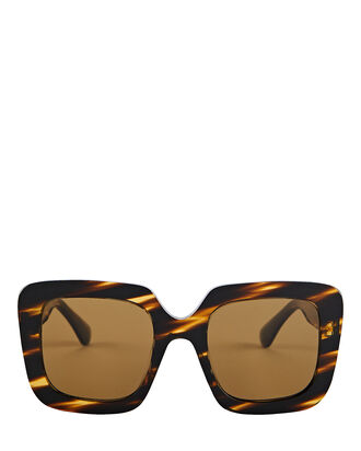Franca Cat Eye Sunglasses, BROWN, hi-res