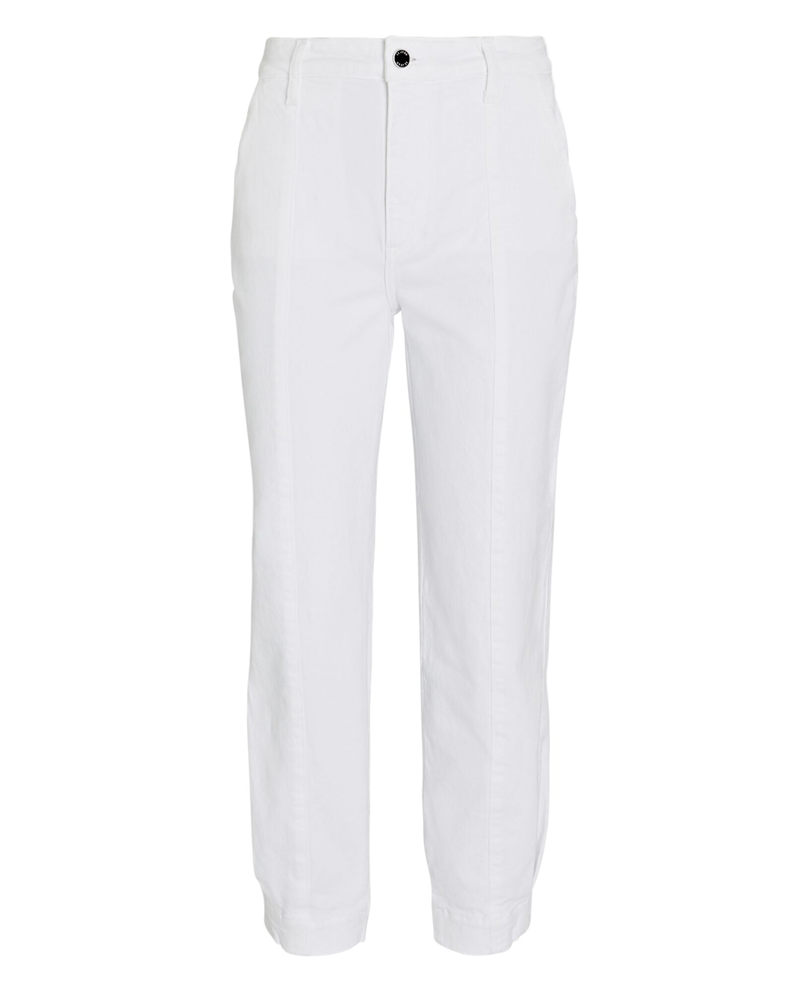 Paloma Cropped Jogger Jeans, WHITE, hi-res