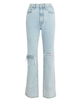 London High-Rise Jeans, LIGHT BLUE DENIM, hi-res