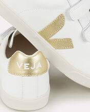 V-Lock Gold Low-Top Sneakers, WHITE, hi-res