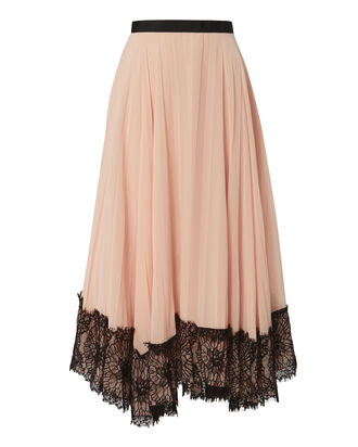 Kaya Pleated Skirt, PINK, hi-res