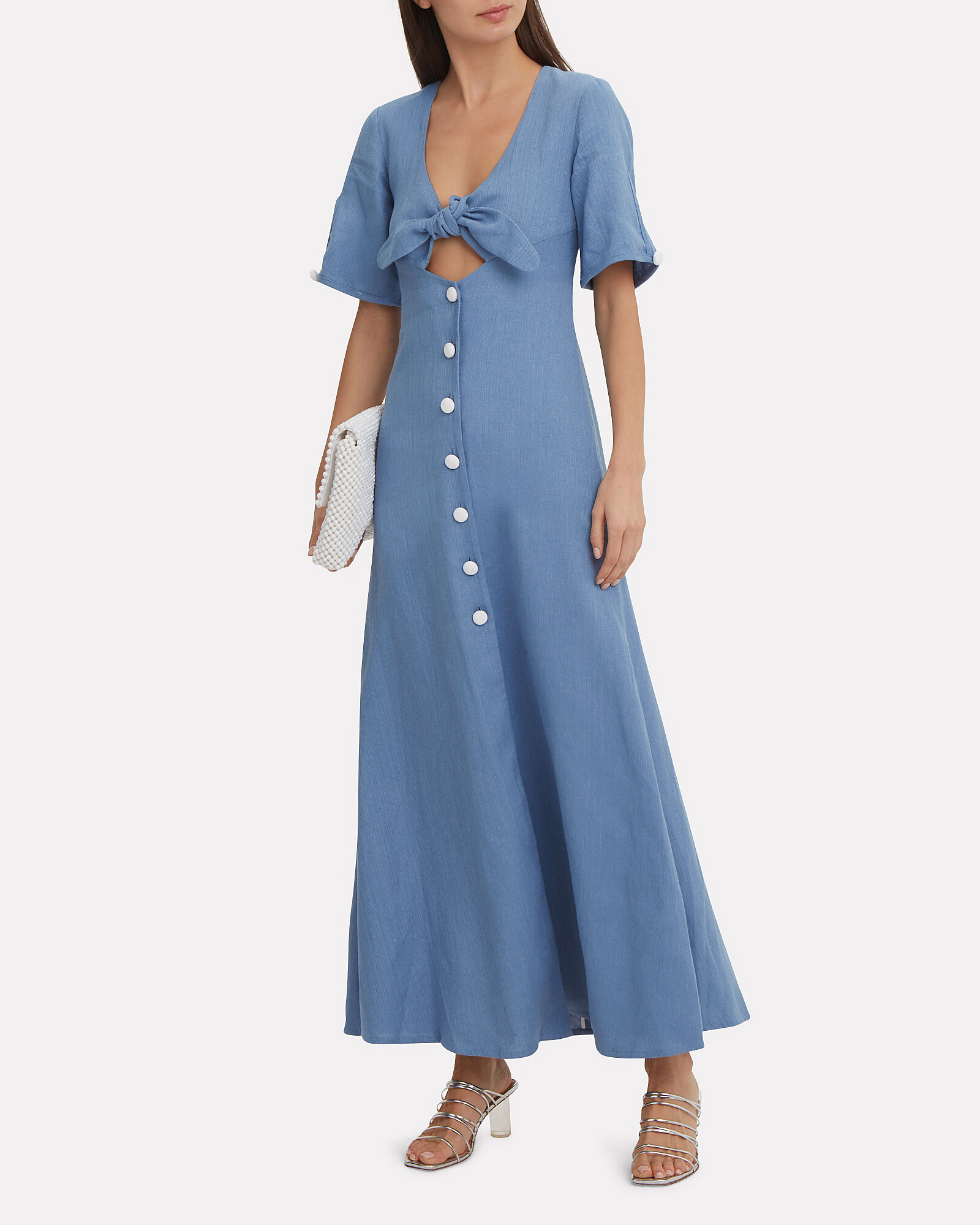 Jameela Maxi Dress, BLUE, hi-res