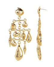 By The Seashore Mobile Earrings, GOLD, hi-res