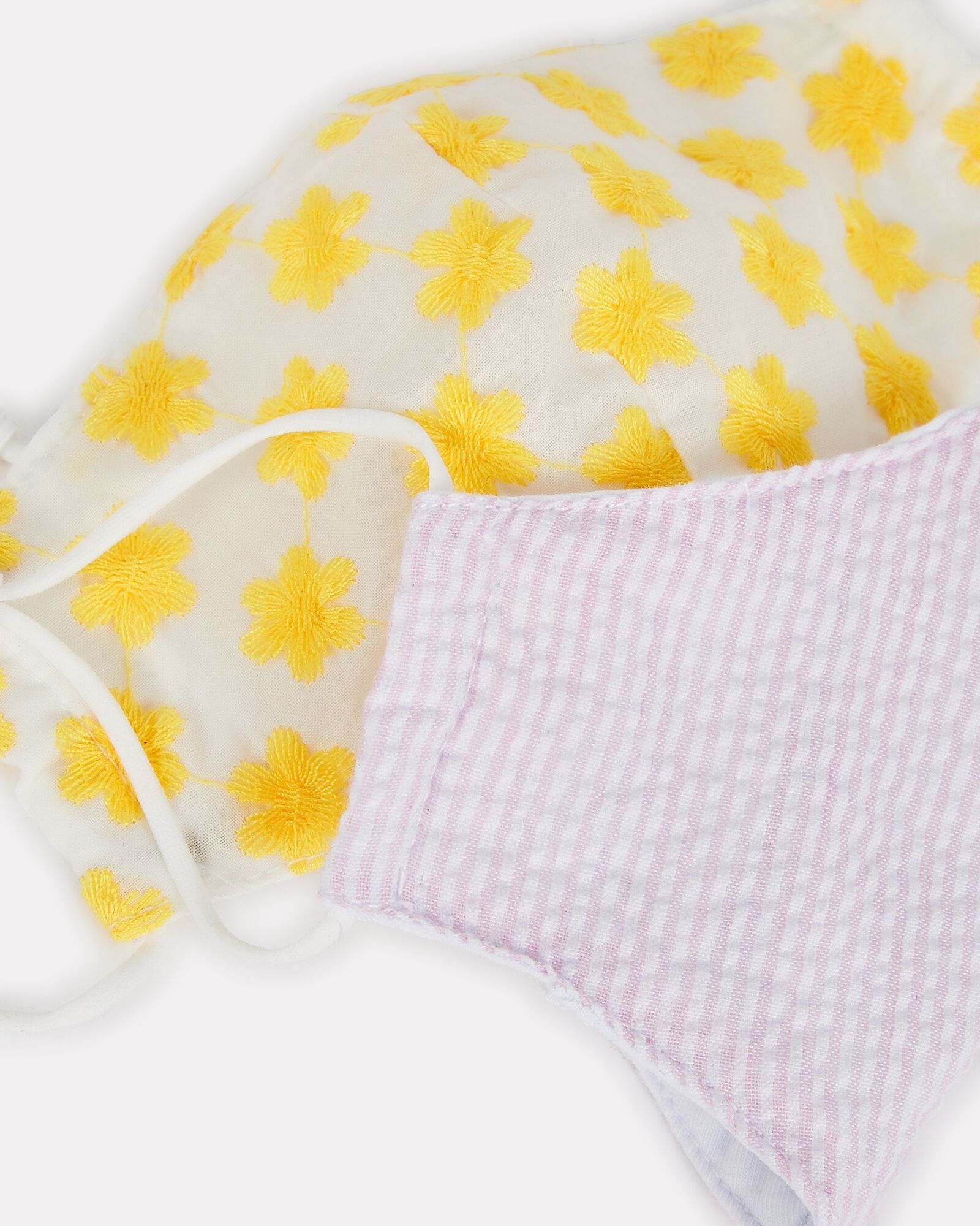 Kids' Face Mask 2-Pack, PINK/YELLOW, hi-res