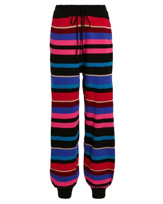Ronny Striped Knit Joggers, MULTI, hi-res