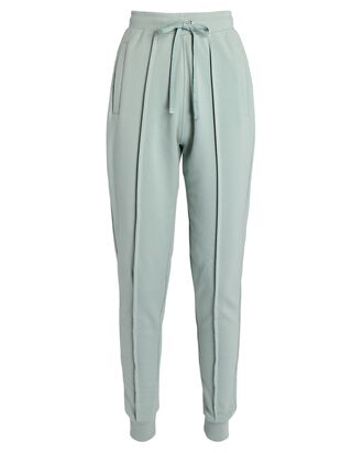 Pima Cotton Joggers, LIGHT GREEN, hi-res