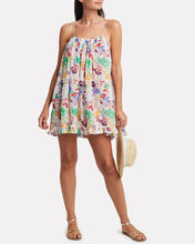 Ruffled Floral Voile Dress, MULTI, hi-res