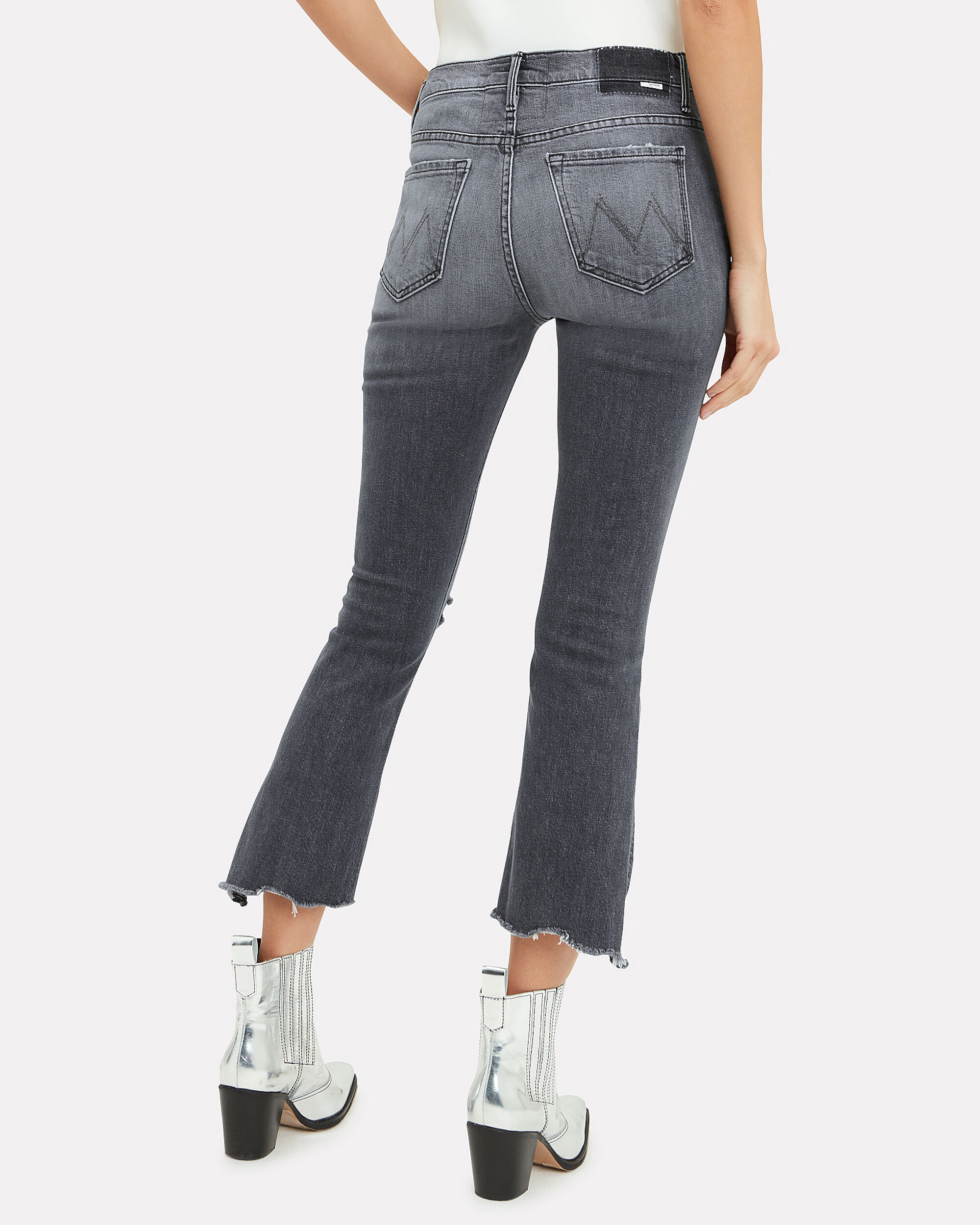 Insider Crop Chew Step Pedal To The Medal Jeans, DENIM, hi-res