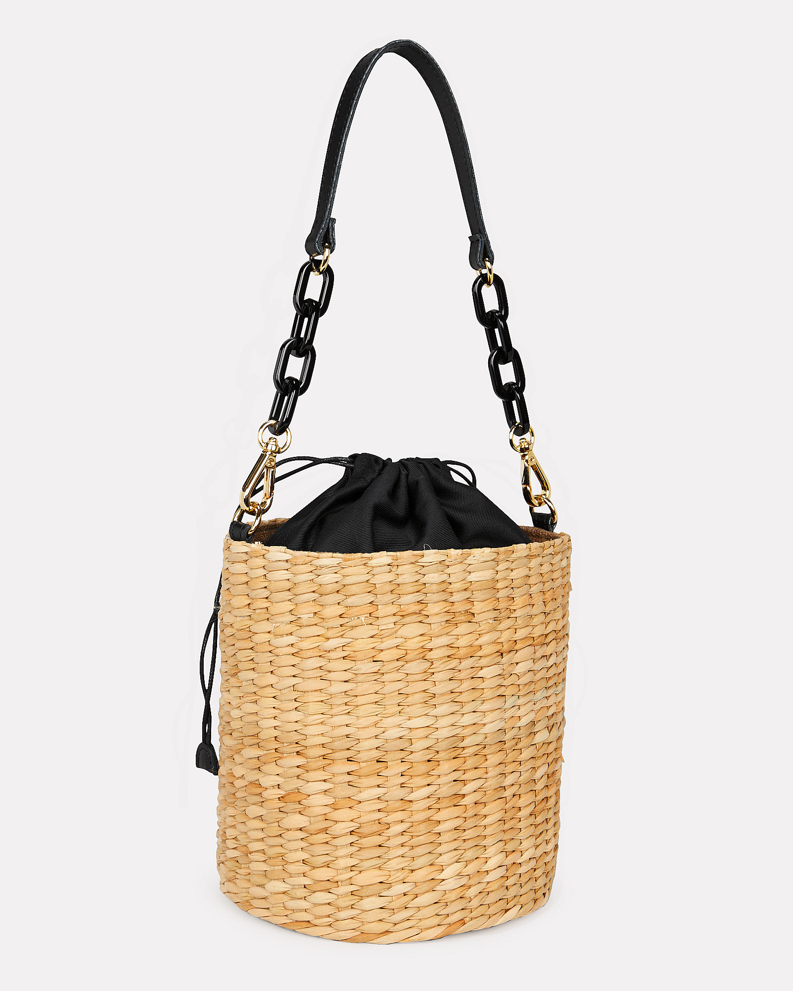 Colette Seagrass Bucket Bag, BEIGE, hi-res