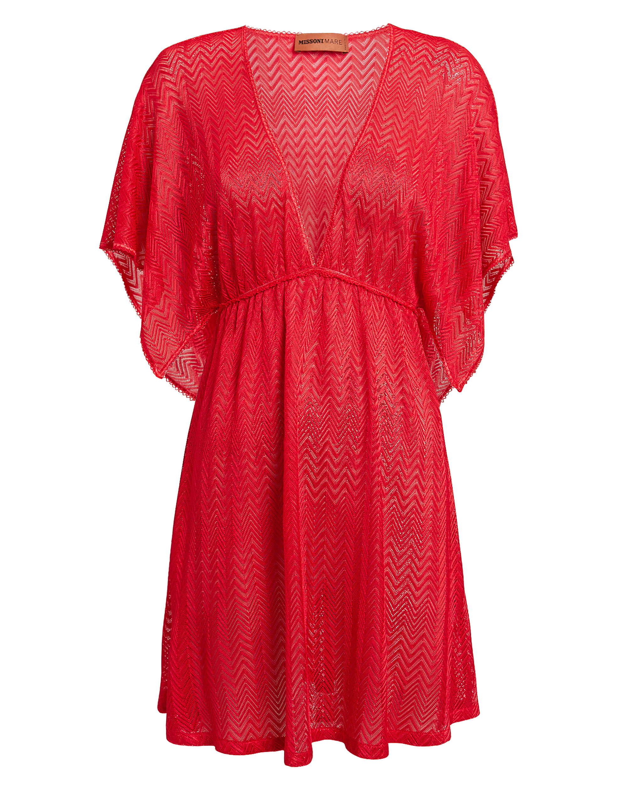Coral Cover-Up Dress, CORAL, hi-res
