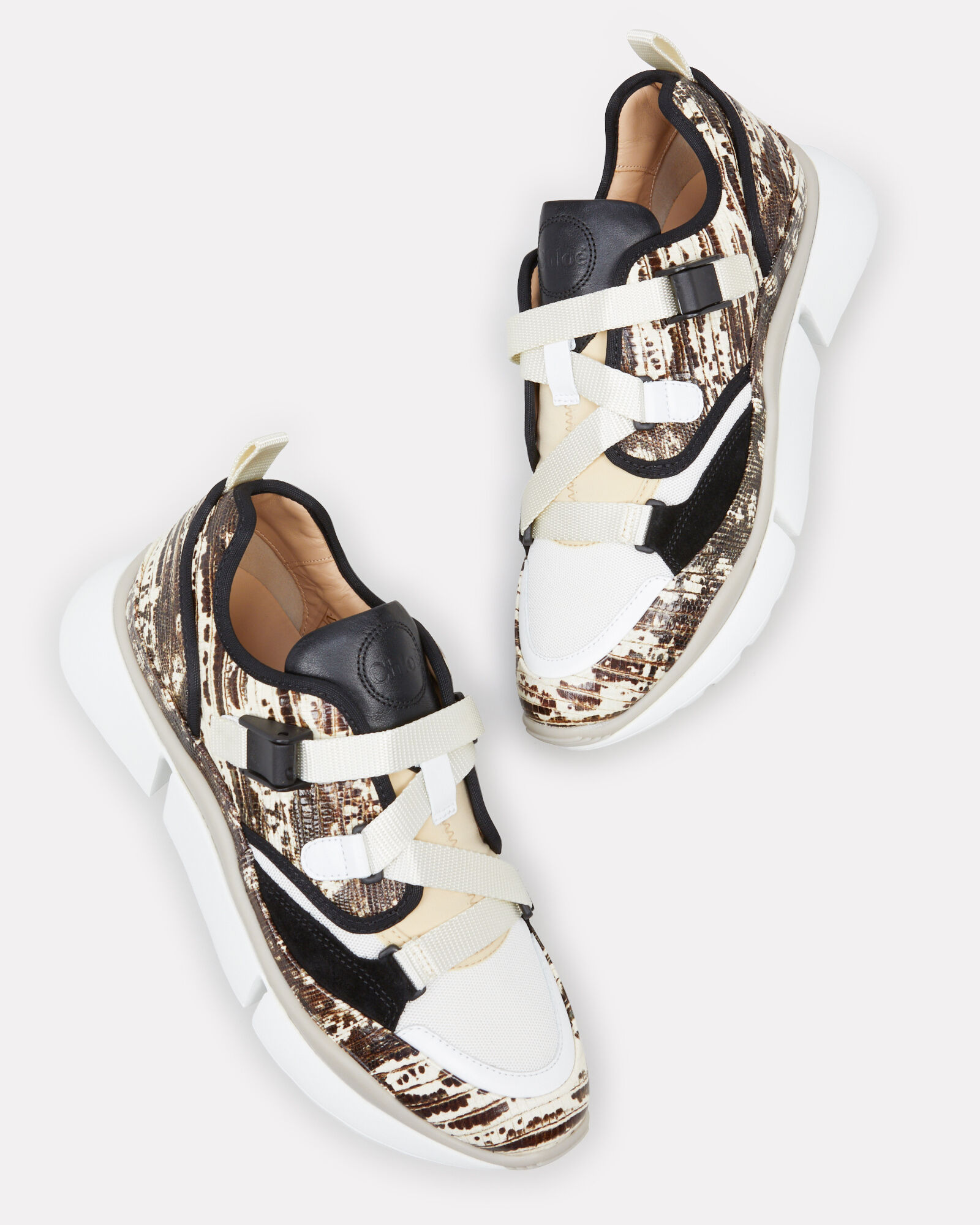 Sonnie Low Top Sneakers, BROWN/BLACK/WHITE, hi-res