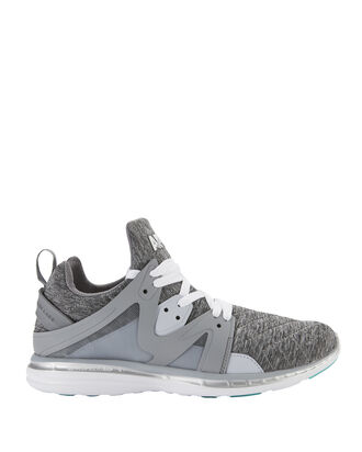 Ascend Cosmic Grey Quilt Front Sneakers, GREY, hi-res