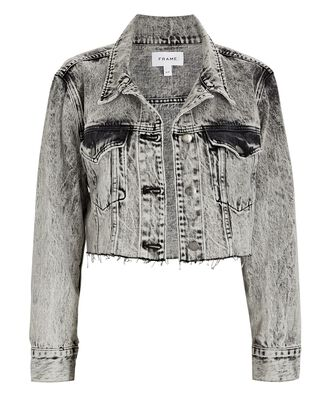 Ultra Crop Denim Jacket, VENDOME, hi-res