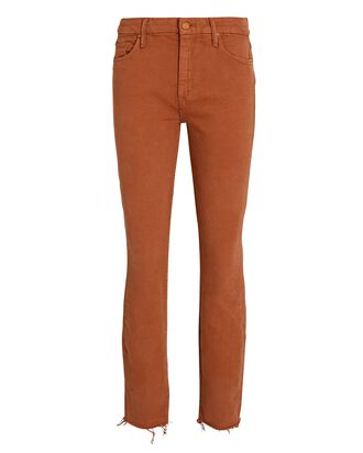 The Looker Ankle Fray Skinny Jeans, COCONUT, hi-res
