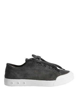 Standard Issue Perforated Low-Top Sneakers, GREY, hi-res
