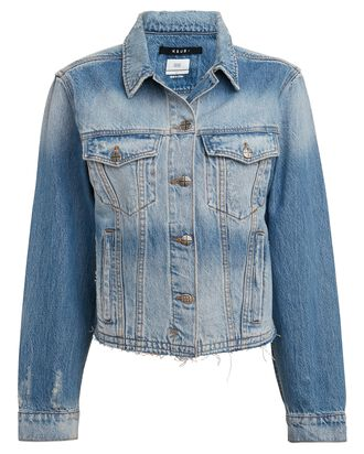 Tour Stonewashed Denim Jacket, DENIM, hi-res