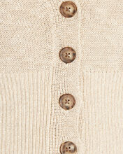 Molly Cropped Cardigan, BEIGE, hi-res