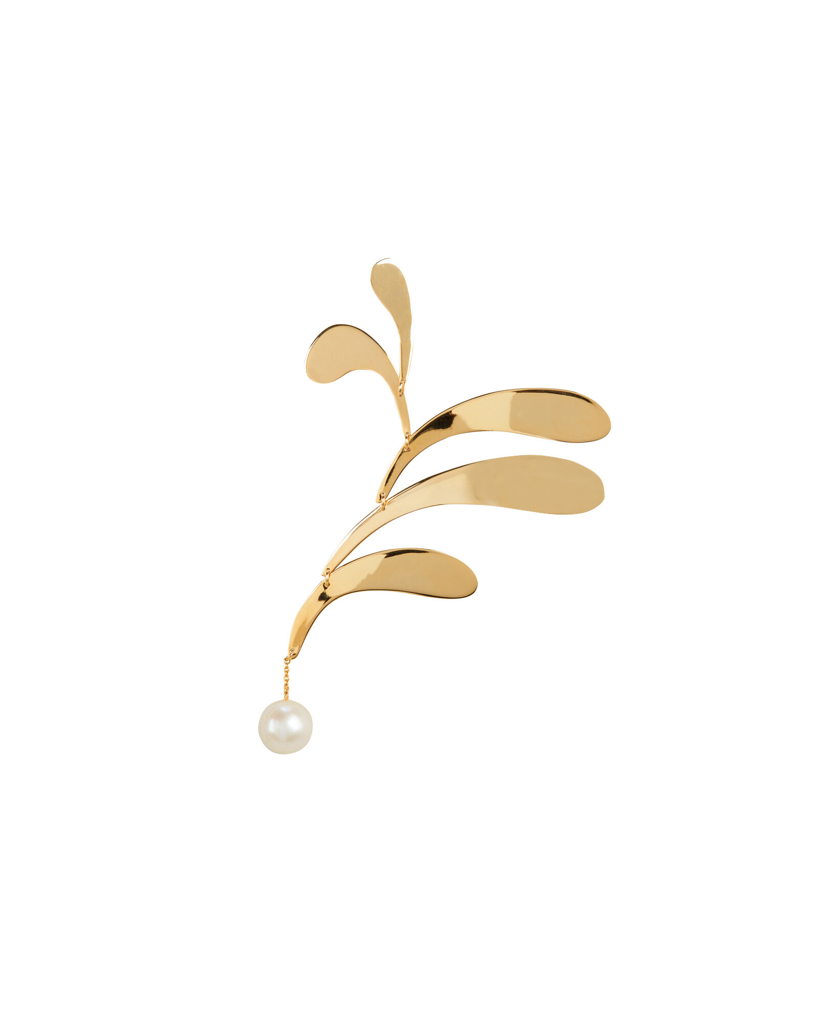 Mobile Dore Single Earring, GOLD, hi-res