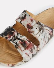 Joplin Moses Two Band Slide, IVORY/BROWN/RED, hi-res