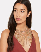 Oasis Fringe Necklace, GOLD, hi-res