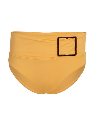 Annie Belted Bikini Bottoms, YELLOW, hi-res
