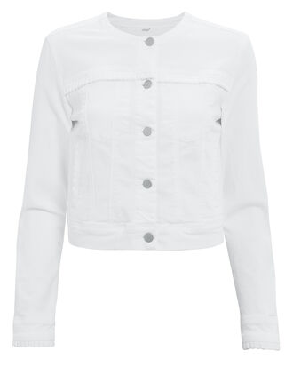 Harlow Jacket, WHITE, hi-res