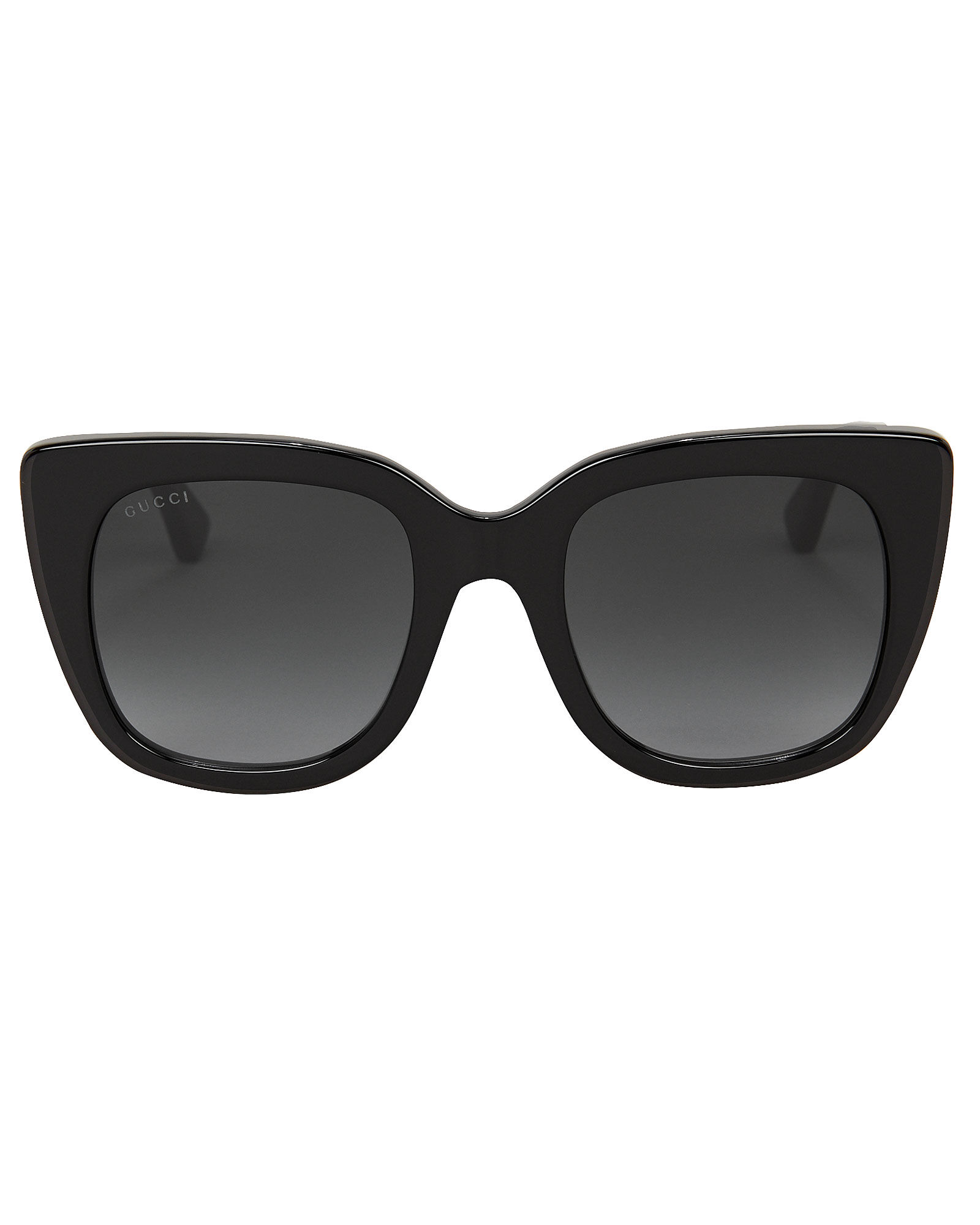 Oversized Cat Eye Sunglasses, BLACK, hi-res