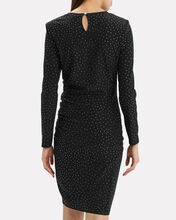 Mistico Ruched Dress, BLACK, hi-res