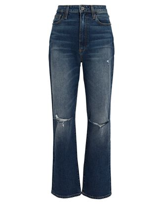 Mia Distressed High-Rise Jeans, AXL, hi-res