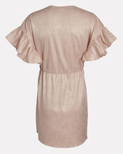 Brookey Knotted Jacquard Mini Dress, BLUSH, hi-res