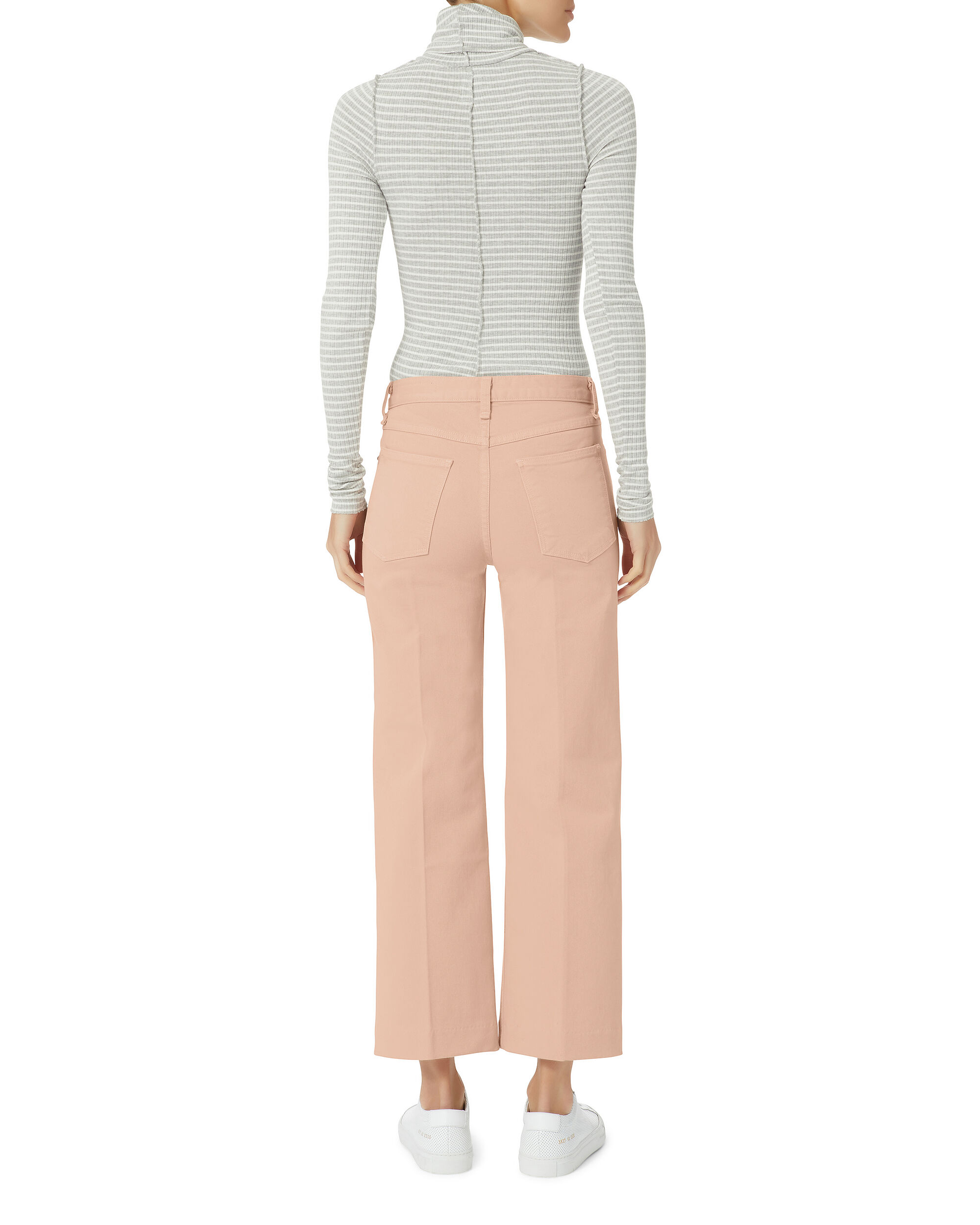 Justine Wide Leg Trousers, BLUSH, hi-res