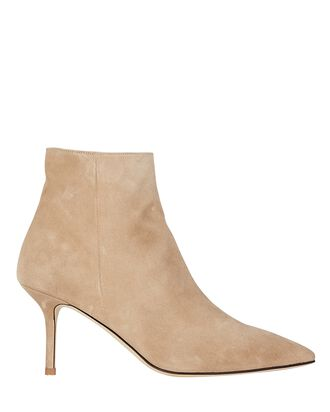 Aimee Suede Ankle Boots, BEIGE, hi-res