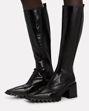 Parker Chelsea Leather Knee-High Boots, BLACK, hi-res