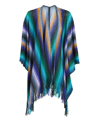 Multicolor Mantle Cape, MULTI, hi-res