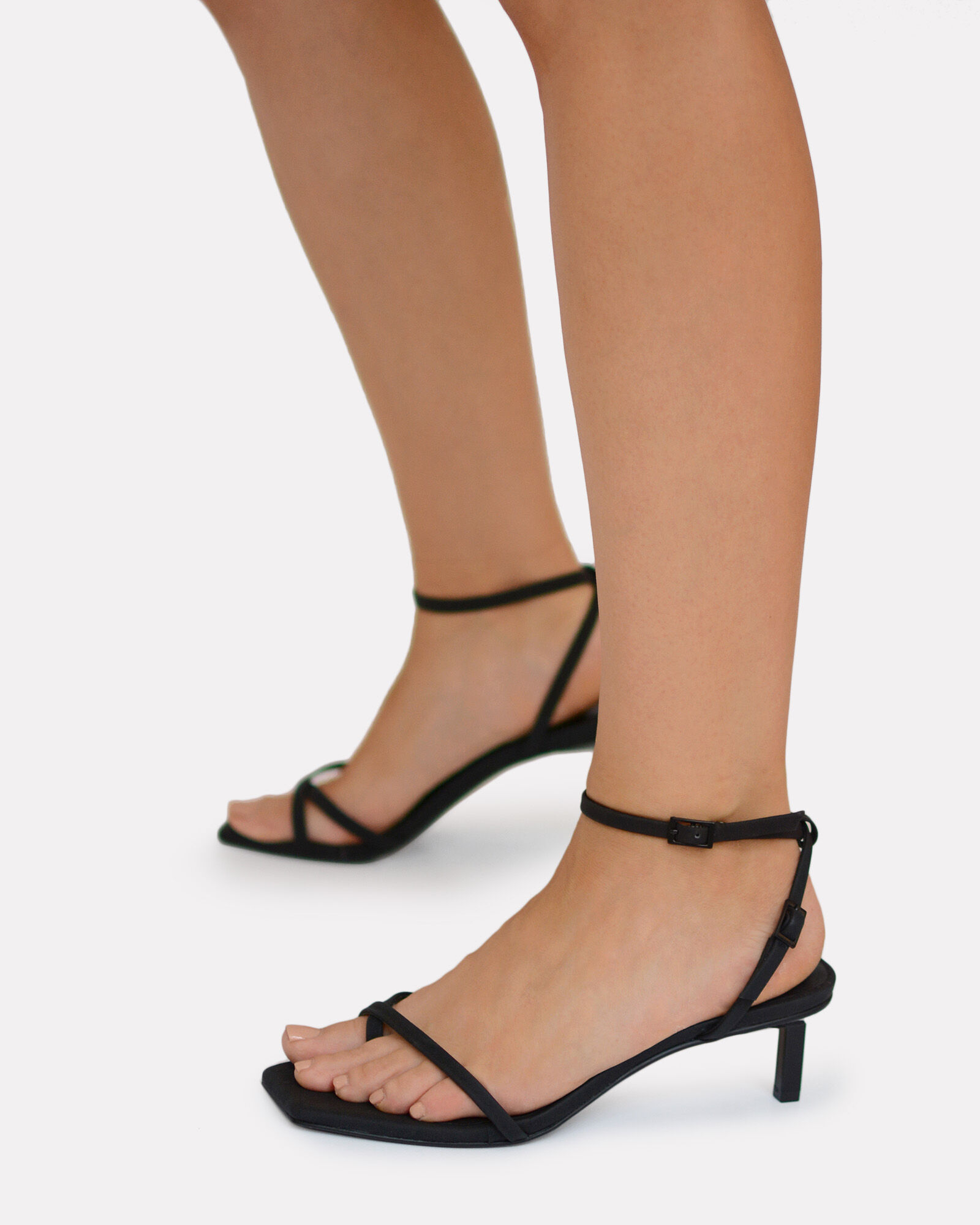 Jamu I Strappy Leather Sandals, BLACK, hi-res