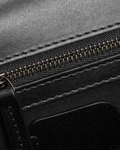 Jewelled Leather Satchel, BLACK, hi-res